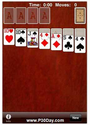 ورق بازی جدید برای آیفون Solitaire 2.8.1 iPhone iPod