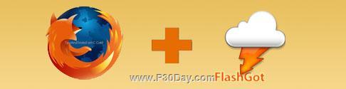 دانلود انواع فایل های صوتی , تصویری و فلش در فایرفاکس FlashGot 1.2.2.1