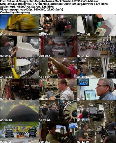 دانلود مستند کارخانجات عظیم - خط تولید ماشین های سنگین ماک