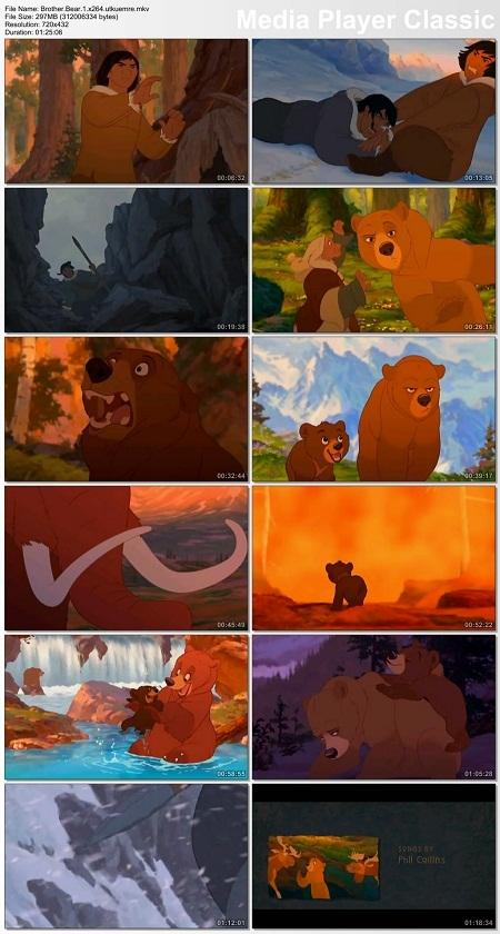 دانلود انیمیشن زیبا و دیدنی Brother Bear 2003