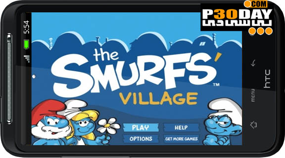 دانلود بازی جالب و زیبای اسمورف ها Smurfs' Village v1.0.3a آندروید