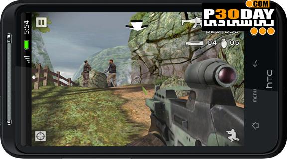 دانلود بازی آندروید Battlefield: Bad Company 2 v1.16