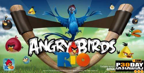 دانلود بازی کامپیوتر Angry Birds Rio v1.4.4 PC Version + کرک