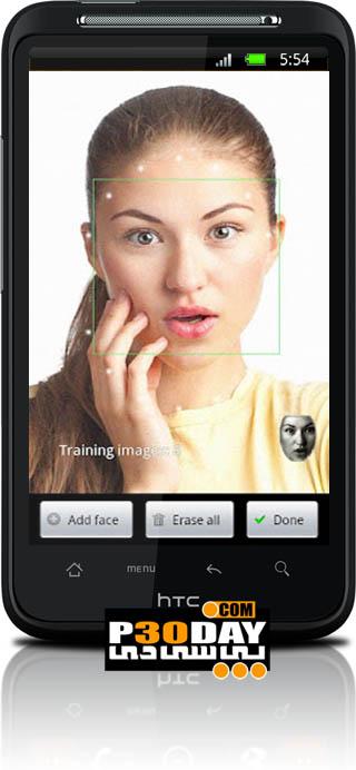 دانلود نرم افزار قفل گوشی با تشخیص چهره FaceLock Pro v2 5 5