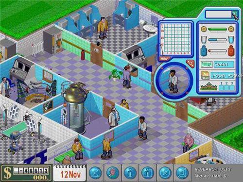 دانلود بازی زیبای شبیه سازی و مدیریت بیمارستان Theme Hospital