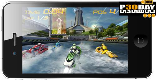 دانلود بازی جدید آیفون Riptide GP v1.1 iphone