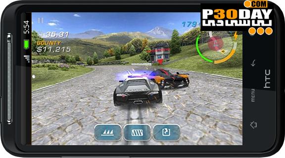 دانلود بازی جدید آندروید Need for Speed Hot Pursuit v1.0.54