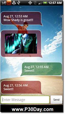 نرم افزار حرفه ای ارسال اس ام اس آندروید Shady SMS 2.0 v23.11
