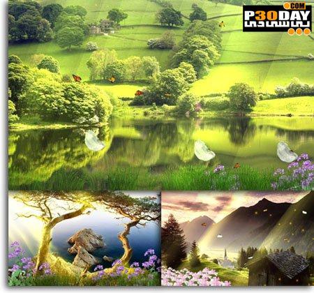 دانلود اسکرین سیور زیبای طبیعت Beautiful Landscape Screensaver