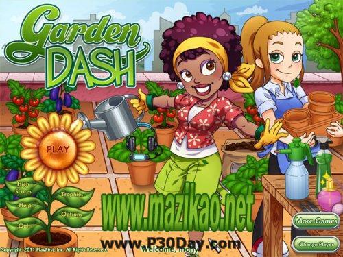 دانلود بازی سرگرم کننده Portable Garden Dash FINAL