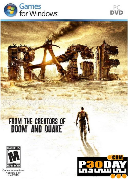 دانلود بازی Rage 2011 با لینک مستقیم + کرک