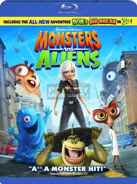 دانلود دوبله فارسی انیمیشن Monsters vs Aliens