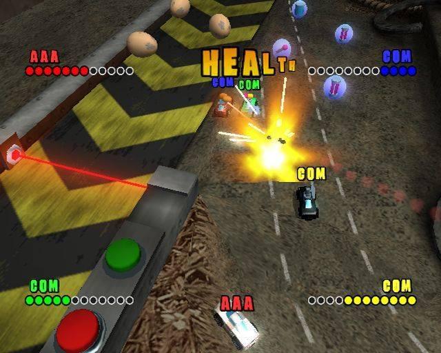 دانلود بازی کامپیوتر ماشین کوچک Micro Machines V4