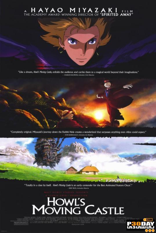 دانلود انیمیشن Howls Moving Castle 2004
