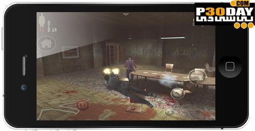 دانلود بازی مکس پین برای آیفون Max Payne Mobile v1.01