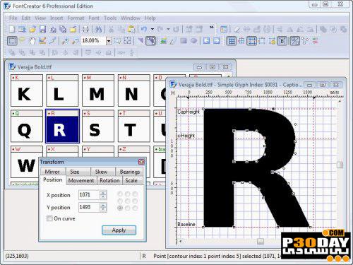ساخت انواع فونت با High-Logic FontCreator Professional Edition 6.2