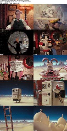دانلود کارتون زیبای Wallace And Gromit A Grand Day Out 1989