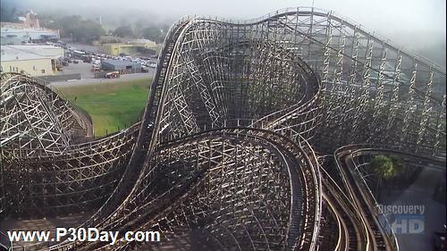 مستند ساخت بزرگترین ترن هوایی دنیا Build it Bigger - Wooden Roller