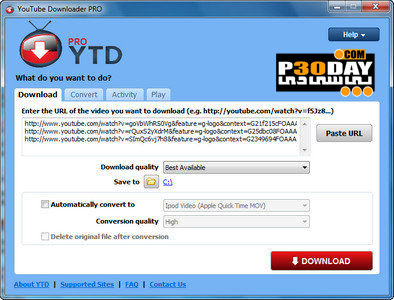 دریافت ویدیوهای Youtube با Biennesoft Youtube Downloader Pro 3.5