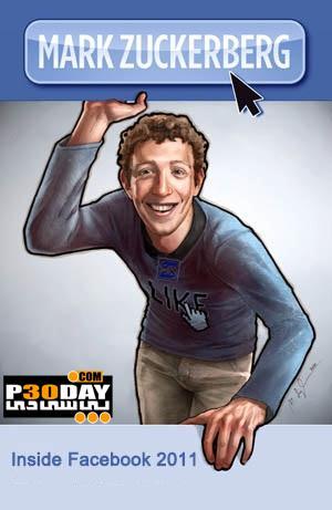 دانلود فیلم مستند مارک زاکربرگ 2011 Mark Zuckerberg: Inside Facebook