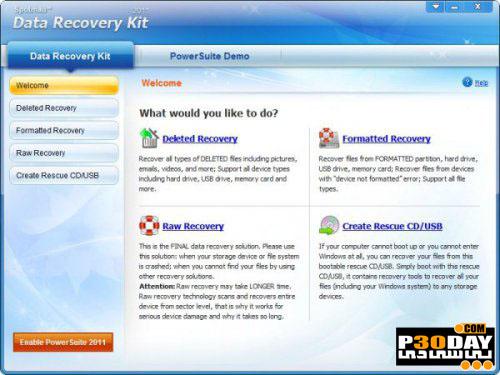 دانلود نرم افزار بازیابی سریع فایل ها Spotmau Data Recovery Kit 6.0.1.3