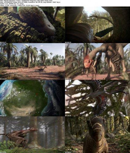 دانلود مستند دیدنی سیاره دایناسورها : زندگی و پیدایش اژدهای پرنده