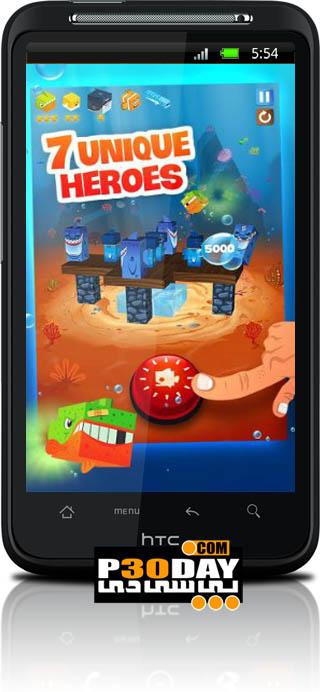 دانلود بازی ماهی های قهرمان Fish Heroes آندروید