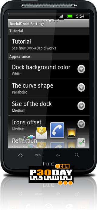 تعویض سریع بین برنامه های در حال اجرا در آندروید با Dock4Droid 1.7.8