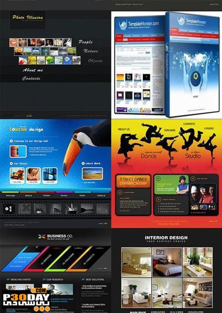 مجموعه عظیم قالب سایت TemplateMonster Site Collection - Series 14000