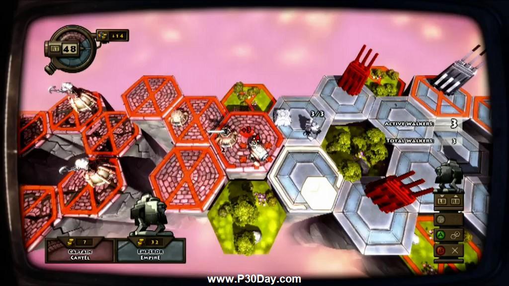 دانلود بازی استراتژیک Greed Corp 2010
