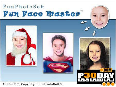 دانلود نرم افزار جالب تعویض صورت Fun Face Master v1.1