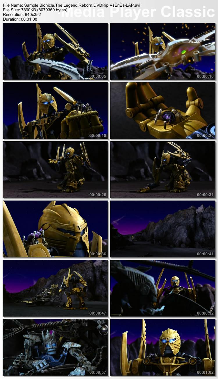 دانلود انیمیشن اکشن Bionicle The Legend Reborn 2009