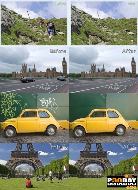 برنامه حذف اشیاء ناخواسته تصاویر Photoupz 1.6 + Portable