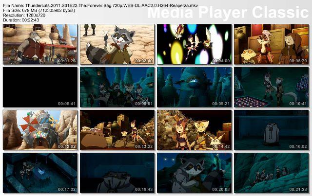 دانلود انیمیشن سریالی گربه های برق آسا Thundercats 2011 ( فصل اول )