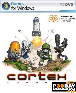 دانلود بازی کم حجم Cortex command: Build 24 Portable