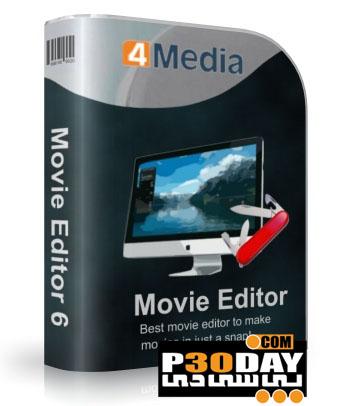 نرم افزار ویرایش ساده ویدیوها 4Media Movie Editor v6.5.2 Build 0907