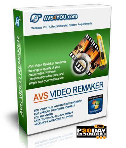 دانلود نرم افزار ویرایش ساده فیلم ها AVS Video ReMaker 4.0.8.140