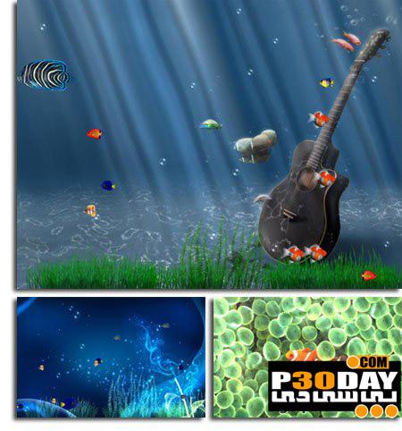 دانلود اسکرین سیور فوق العاده زیبای Ocean Adventure Aquarium Screensaver