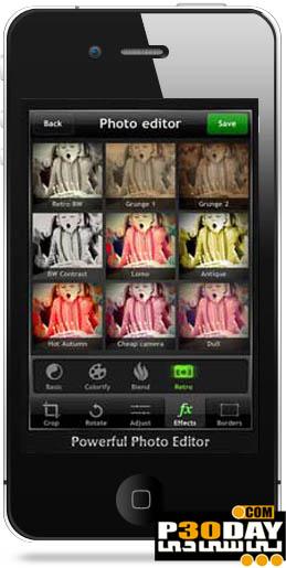 دانلود نرم افزار قدرتمند دوربین حرفه ای Top Camera v3.5 آیفون