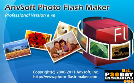 نرم افزار خلق آلبوم عکس فلش AnvSoft Photo Flash Maker Professional v5.40