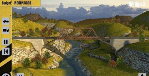 دانلود بازی شبیه سازی ساختن پل Bridge Constructor