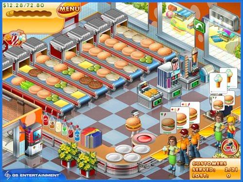 دانلود بازی آشپزی Portable Stand O'Food 3 FINAL