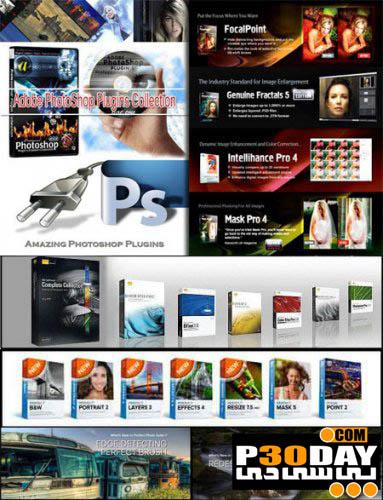 دانلود مجموعه 100 پلاگین برتر و فوق العاده نرم افزار فتوشاپ