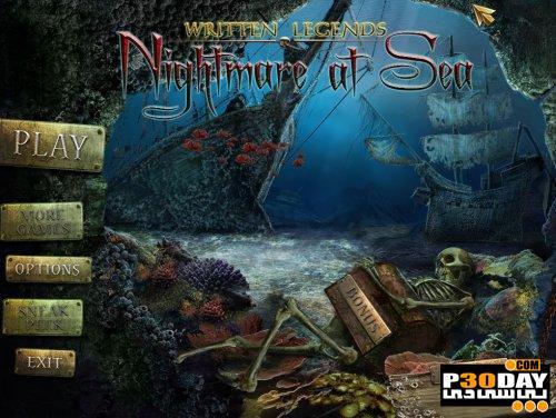 بازی هیجانی کابوس در دریا Written Legends: Nightmare At Sea Portable