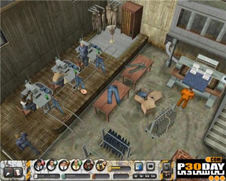 دانلود بازی کم حجم Prison Tycoon: Alcatraz Portable