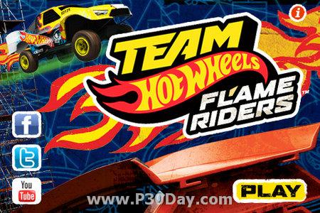 دانلود بازی رالی Team Hot Wheels Flame Rider 1.1 iPhone/iPod