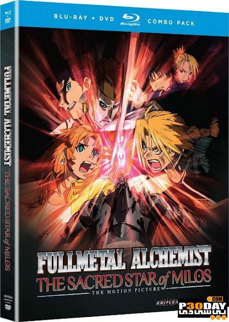 دانلود انیمیشن Fullmetal Alchemist The Sacred Star of Milos 2011