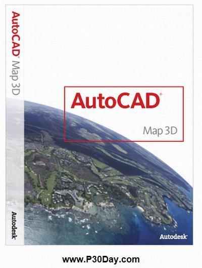 دانلود نرم افزار نقشه برداری Autodesk AutoCAD Map 3D 2012