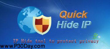 نرم افزار مخفی کردن آی پی در اینترنت Quick Hide IP v1.1.0