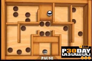 بازی فوق العاده جذاب Qvik Wooden Labyrinth 3D v.1.00 سیمبیان 3